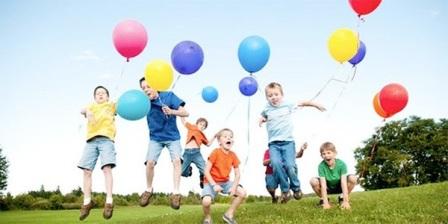 Запуск шариков в небо