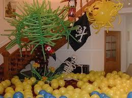 Украшение дня рождения в пиратском стиле