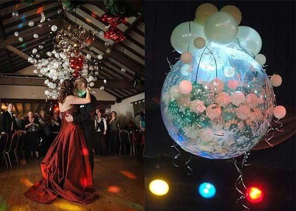 Свадебные конкурсы с воздушными шарами