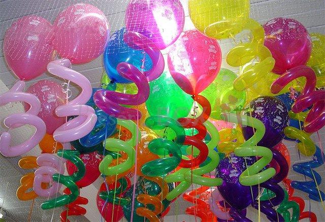 Шарики с гелием – забава для детей. 5 игровых конкурсов с использование гелевых шариков